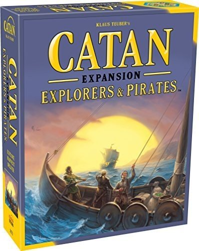 Catan: Explorers and Pirates Expansion by Catan Studios