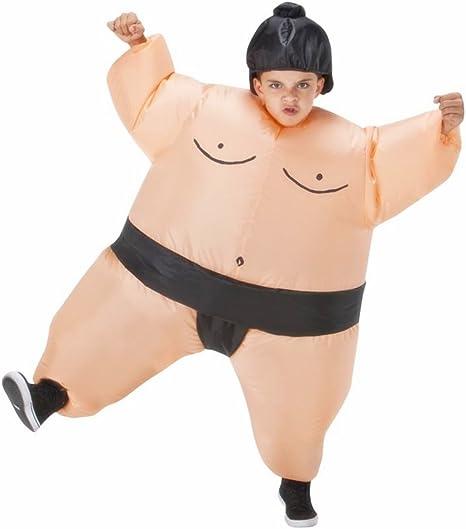 Amazon.com: Niños inflable Luchador de sumo disfraz de ...