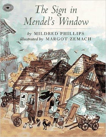 Book The Sign in Mendel's Window (Aladdin Picture Books)
