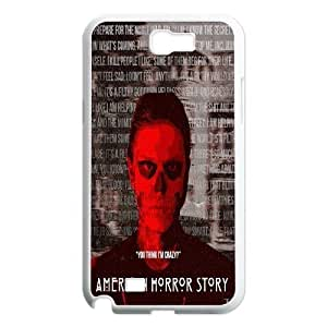 American Horror Story For Samsung Galaxy Note 2 Case Designed by Windy City Accessories hjbrhga1544