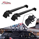ALAVENTE Roof Rack Cross Bars System For JEEP Compass 2011-2016 (Pair - Black)