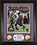 NFL Baltimore Ravens Super Bowl XLVII MVP Gold Coin Photo Mint, Gold, 18'' x 14'' x 3''