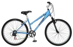 Schwinn High Timber Women's Mountain Bike (26-Inch Wheels, Matte Light Blue)