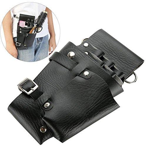 Salon Stylist Hairdressing Tools Waist Belt Bag, Professional Hairdressing Tool Pouch Bag Barber Scissor Comb Holster Waist Belt