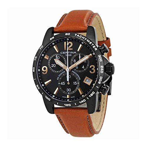 Certina DS Podium Chronograph Black Dial Mens Watch C034.417.36.057.00