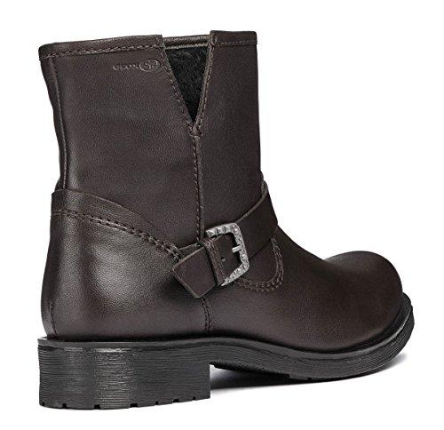 Damen Sportive Reißverschluss Rawelle System Glattleder Boots Geox D846RC qtZ7YxE