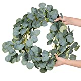 DearHouse Artificial Eucalyptus Garland Faux Silk