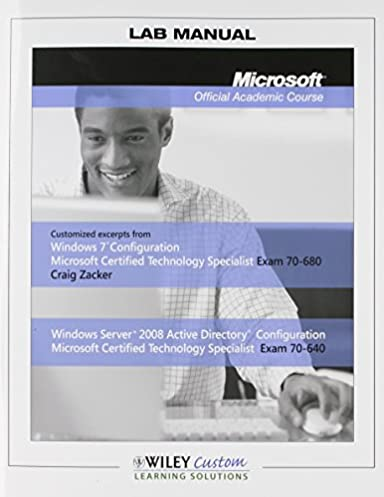 lab manual microsoft official academic course craig zacker rh amazon com microsoft official academic course lab manual pdf Microsoft Academic It