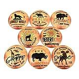 Set of 8 Wildlife Safari Tours Cabinet Knobs