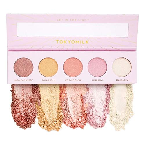 (Tokyomilk Let in the Light Eyeshadow Palette | 5 Colors Eye Shadow Powder Make Up, Tokyo Milk Eye Shadow Palette)