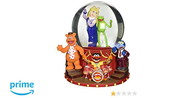 NEW UNUSED Presenting The Muppets Main Cast 100mm Water Globe