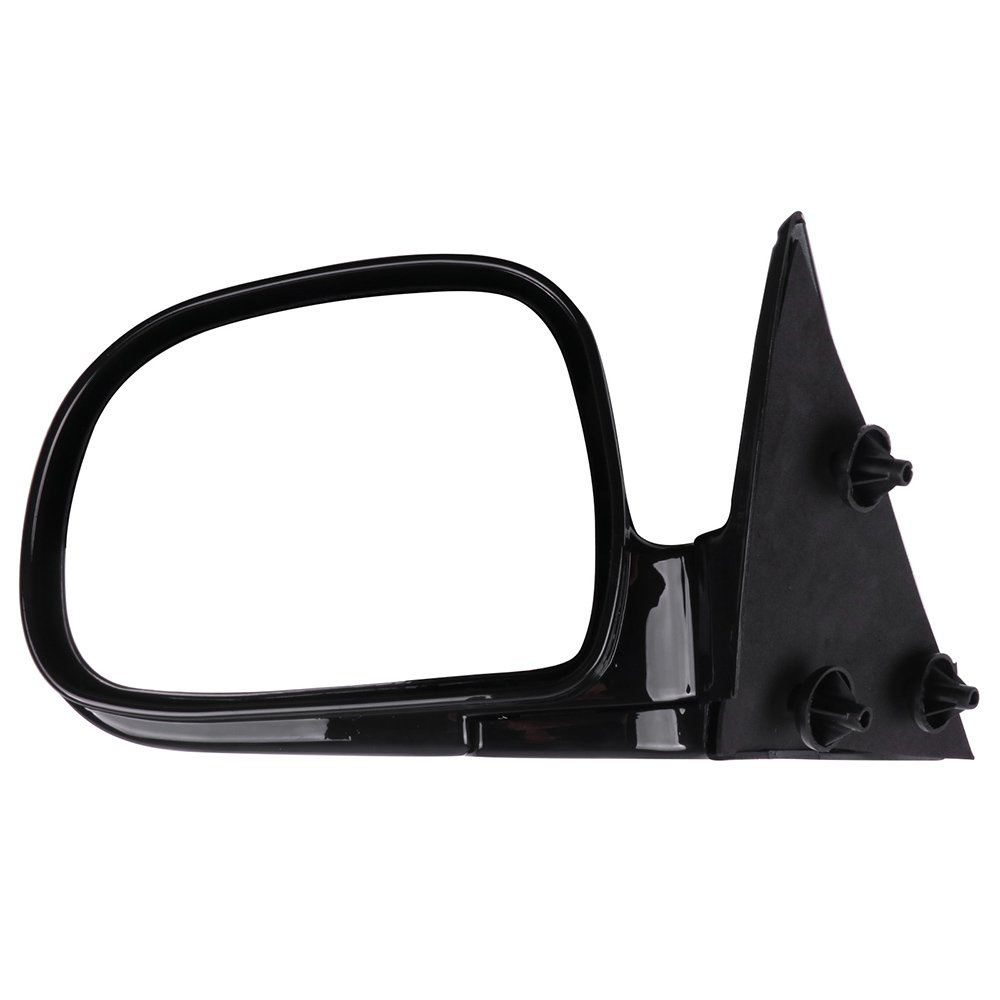 AUTOMUTO Black Rear-vision Mirror Left and Right Side View Mirror Manual Folding Manual adjustment Non-Heated Fit Compatible With 1994-98 Chevy Blazer S10 1994-98 Chevy S10 1994-98 GMC Jimmy S-15