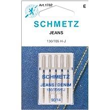 Jean & Denim Machine Needles-Size 14/90 5/Pkg