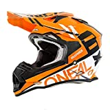 O'Neal Unisex-Adult Off-Road Style 2SERIES Helmet SPYDE orange/white XL (