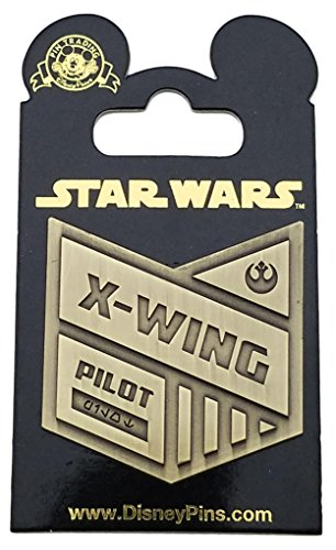 Disney Pin - Star Wars: Rogue One - X-Wing Pilot Badge