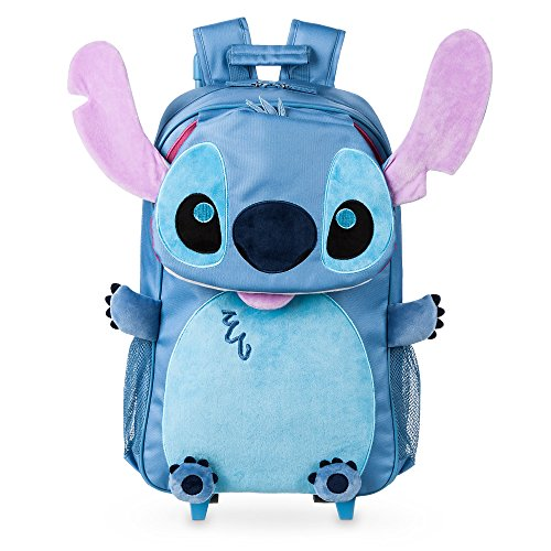 Disney Stitch Rolling Backpack Blue