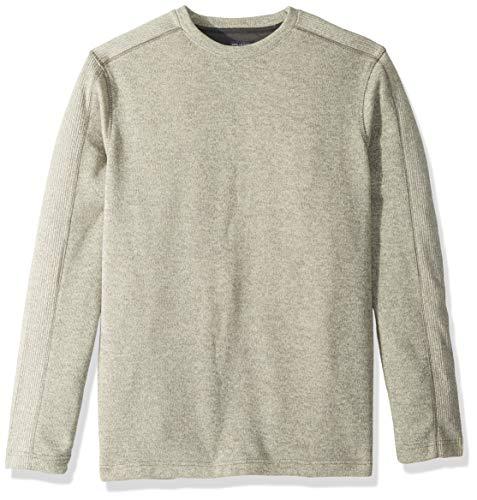 - Van Heusen Men's Big and Tall Flex Long Sleeve Colorblock Crewneck Pullover Sweater, Silver Birch, 4X-Large