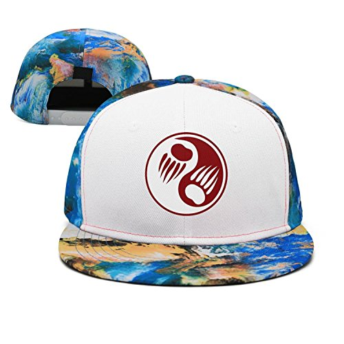 SJSNBZ Bear Claw Clipart graphic womens mens colorful basketball caps