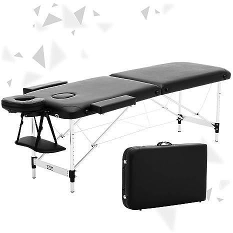 Jl Comfurni Table De Massage Pliante Portable Pour Tatouage