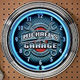 Personalized Garage Workshop Clock