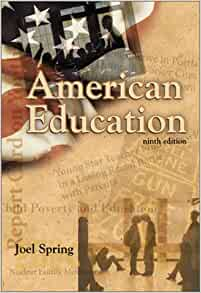 review of joel spring book From joel spring, the author of numerous books on the globalization of education, comes this new book entitled globalization of education: an introduction since i am someone who embodies a transnational life, this book strikes me as a timely contribution to the literature on globalization of education.