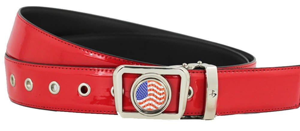 Giggle Golf Women's Ball Marker Belt Large Red