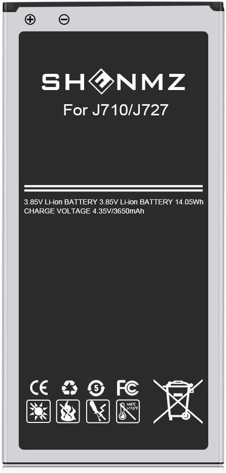 Galaxy J7 Prime Battery, Upgraded [3650mAh] Battery Replacement for Samsung Galaxy J7 (2017 Ver) SM-J727 J727 J727R4 J727T1 J7 Prime SM-J727T Phone-18 Month Service