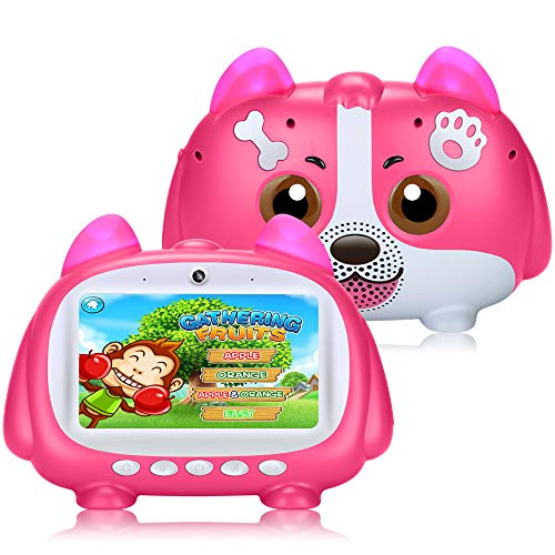"""7"""" Inch Kids Tablet,PADGENE Android 9.0 Kids Edition Tablets Pad, 5000mAh Battery,Quad Core ,1GB+16GB,Kidoz&Google Play…"""