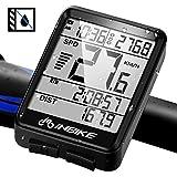 NARUTOO Bike Computer, Wireless Bicycle Computer Waterproof Bike Odometer Speedometer Multi-Functions with Backlight