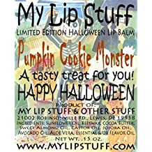 My Lip Stuff-PUMPKIN COOKIE MONSTER LIMITED EDITION HALLOWEEN LIP BALM