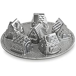 Nordic Ware Platinum Cozy Village Baking Pan
