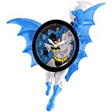 "Batman Pendulum motion Wall Clock,  wall decor, size 14"" x 6"" x 5.5"", super birthday gift for boy's, kids."