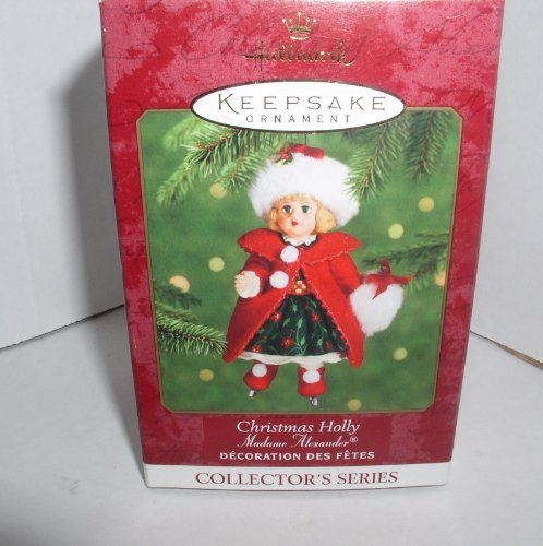 1 X 2000 HALLMARK KEEPSAKE ORNAMENT CHRISTMAS HOLLY