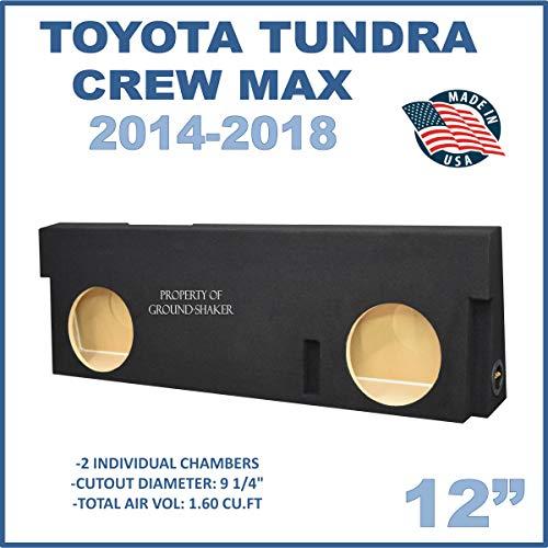 Fits Toyota Tundra Crew-Max 2014-2018 12