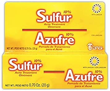 Grisi Sulfur Acne Treatment Ointment | Sulfur Ointment for Severe Acne  Treatment, Helps to Clear Up