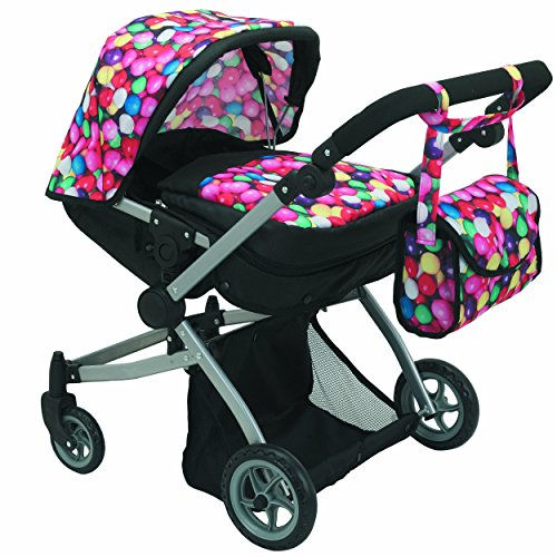 Silver Cross Dolls Pram Black - 1