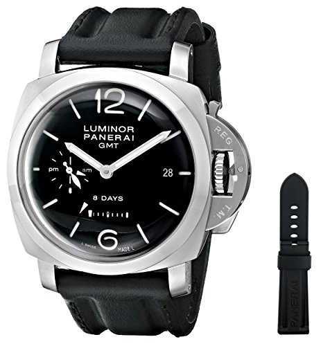 Panerai Men's PAM00233 Luminor 1950 Analog Display Swiss Automatic Black Watch