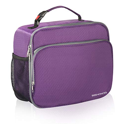 SEEHONOR Insulated Lunch Box Thermal Durable Reusable