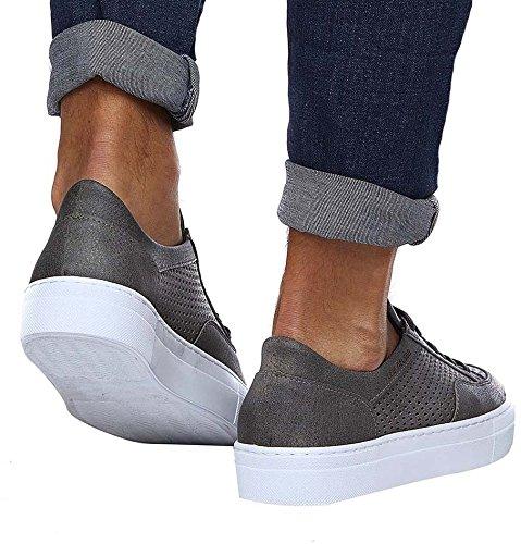 uomo LEIF NELSON Grigio LN154 Sneaker rvStxqTr