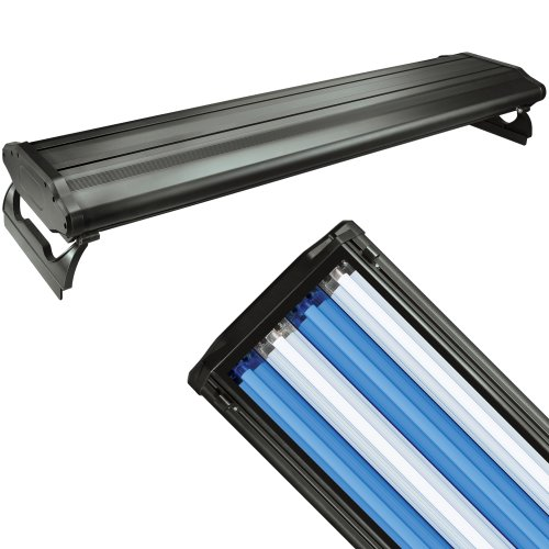 WavePoint 48-Inch 216-Watt 4 Bulb High Output T-5 Lighting System, (Wave High Output Fluorescent Fixture)