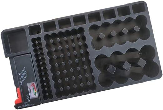 Gazechimp El Estuche para Almacenamiento del Organizador De La Batería, Incluye Un Probador De Batería Extraíble, Tiene 110 Baterías, Varios Tamaños: Amazon.es: Hogar