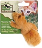 OurPets Play-N-Squeak Backyard Fox Catnip Cat Toy