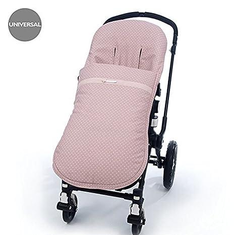 Pasitto a Pasito - Funda Silla Paseo Universal Pasito a Pasito con Colcha de verano Elodie Nude rosa: Amazon.es: Bebé