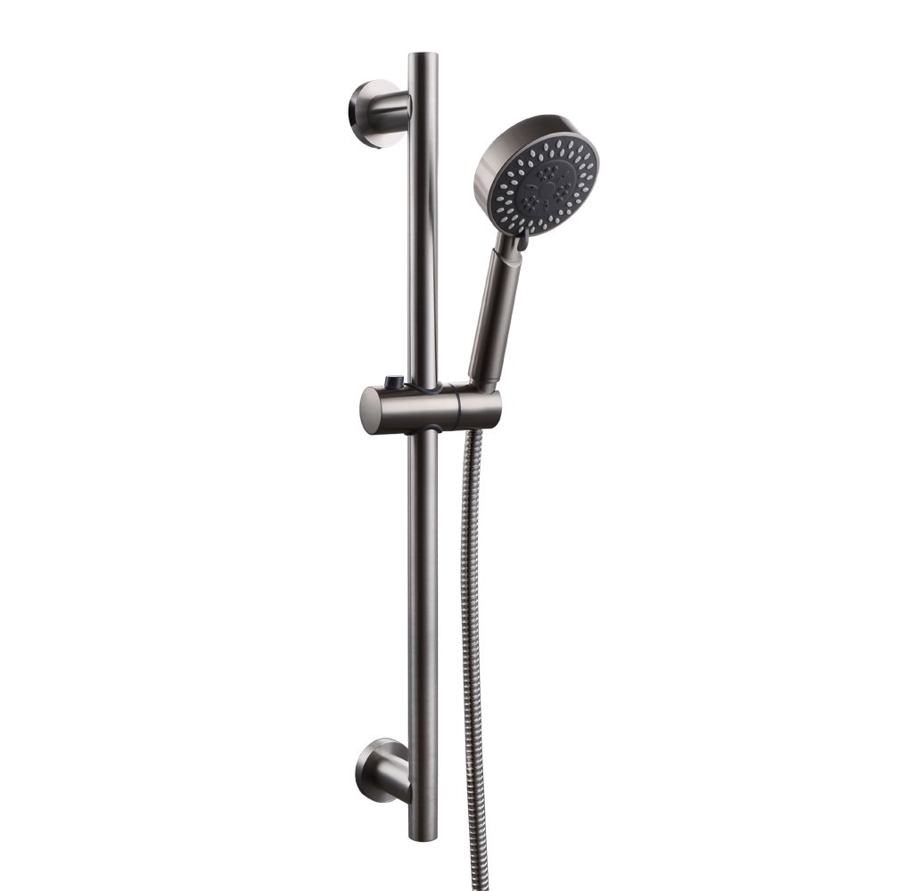 KES 3-Function Hand Shower Head with Adjustable Slide Bar, Brushed SUS 304 Stainless Steel, F204-2+KP309-2 delicate