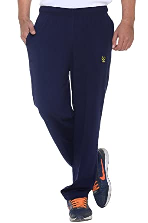 dbff47229f4 VIMAL Men s Navy Blue Cotton Trackpants  Amazon.in  Clothing ...