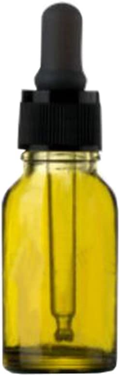 15 ml de vidrio retornables cuentagotas botella envase Esencia (4 PCS): Amazon.es: Belleza