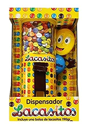 Lacasitos Dispensador de Grageas de Chocolate - 190 g: Amazon.es: Amazon Pantry