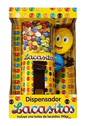 Lacasitos Dispensador de Grageas de Chocolate - 190 g