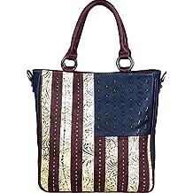 Montana West Handbag / Cross Body American Pride Concealed Carry Purses
