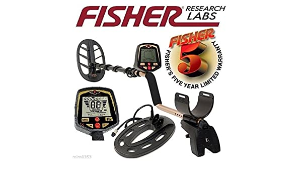Amazon.com : Fisher F70 Multi-Purpose Metal Detector Pro 10 inch + 11 inch Double-D Search Coils : Garden & Outdoor